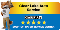 Carfax Top-Rated Service Center Badge